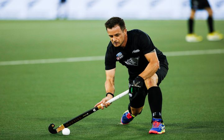 Black Sticks hockey player Shea McAleese.