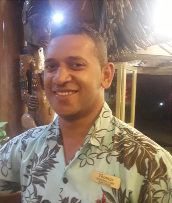 The 25 year old Thomas Riley was involved in a fatal motorbike crash on Wednesday in Rarotonga.