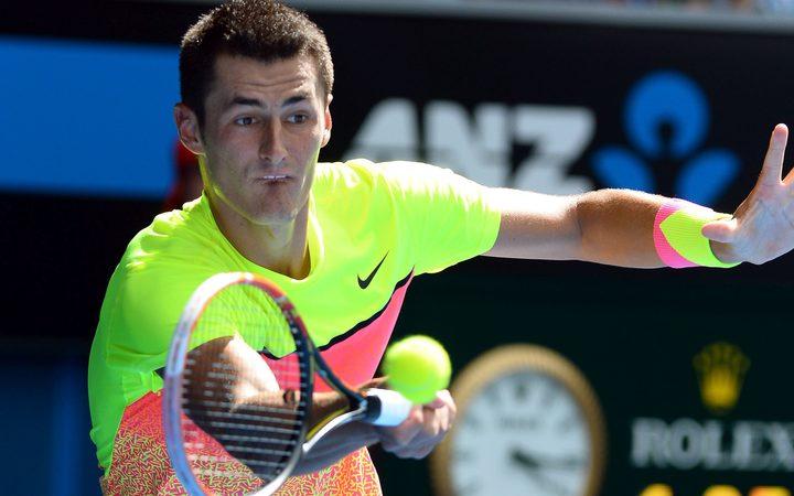 Tennis Tomic Doubles Down Against Hewitt Rnz News