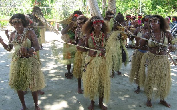 Solomon Islands dancers