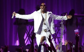 R Kelly performs at MSG Theater in New York City in 2012.