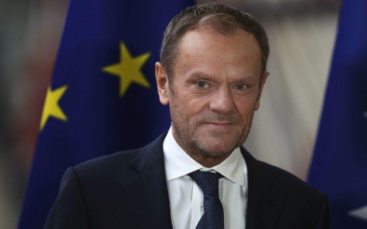 欧洲理事会主席唐纳德图斯克