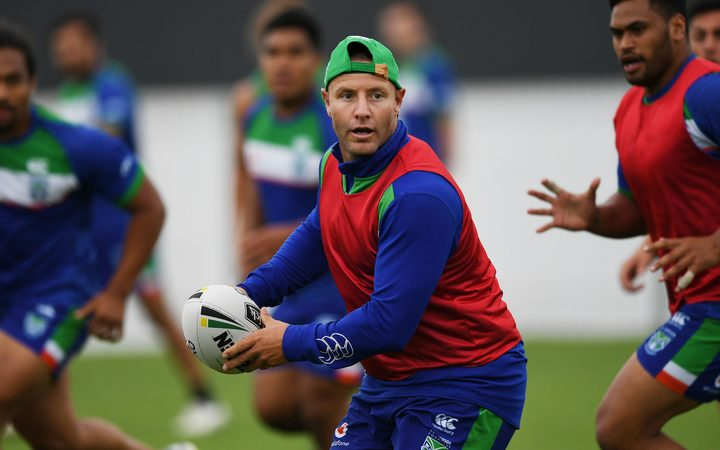 Warriors playmaker Blake Green at training