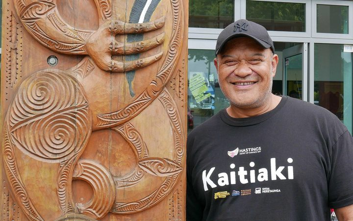 One of Flaxmere's kaitiaki Tihema Cooper loves working in the community and says it's a priviledge.