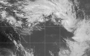 Satellite image of Tropical Cyclone Neil