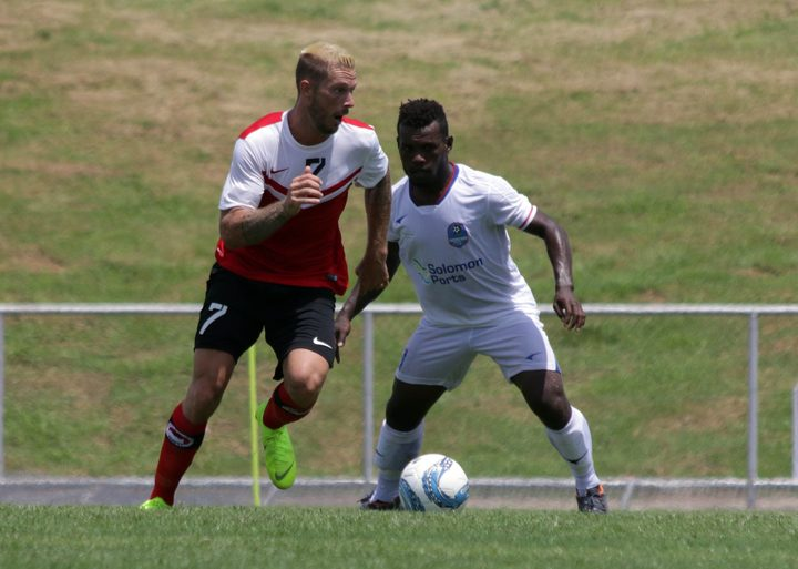 Tahitian champions AS Central Sport edged newcomers Henerson Eels from Solomon Islands.