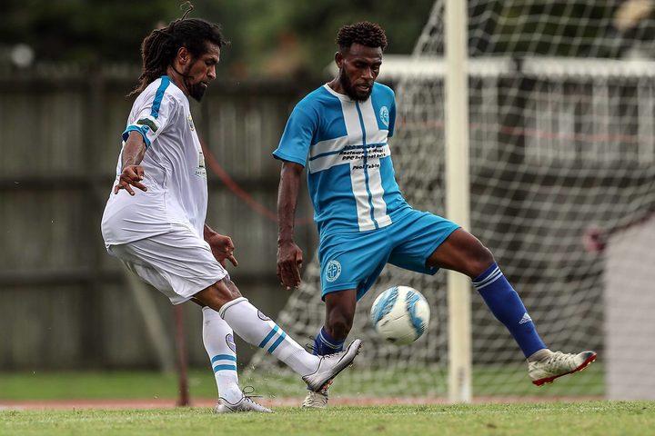Veteran striker Bertrand Kai bagged a hat-trick for Hienghene Sport.