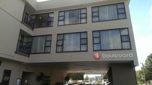 One of Donghua Liu's properties, the Boulevard Hotel in Auckland.