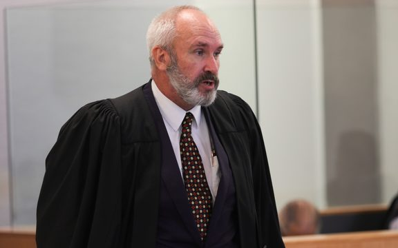 Defence lawyer at Malcolm Rewa trial, High Court in Auckland.