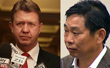 David Cunliffe and Donghua Liu.