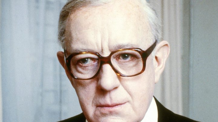 Alec Guinness as the inimitable George Smiley in Tinker Tailor Soldier Spy.
