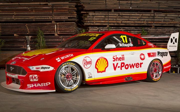 Scott Mclaughlin's 2019 Ford Mustang.