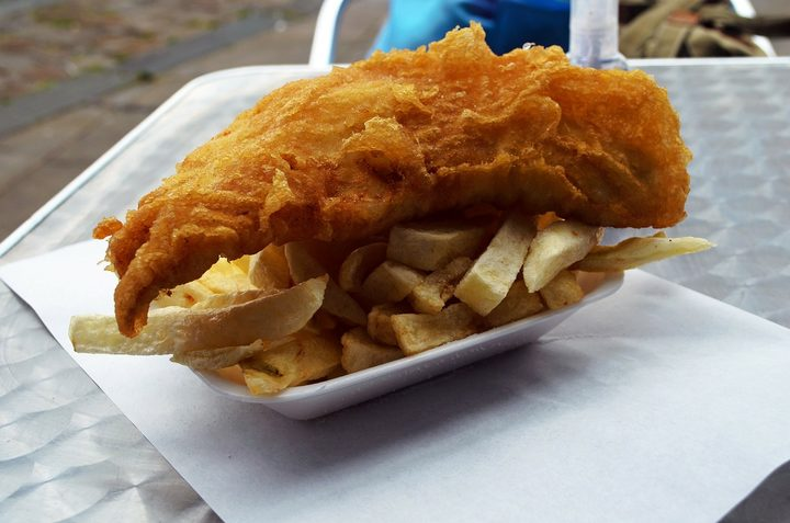 When New Zealanders say fish and chips, it sounds like fush 'n' chups.