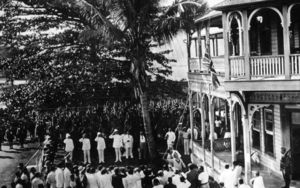 Government Building, Apia, 1914