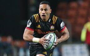 Toni Pulu in action for the Chiefs last season