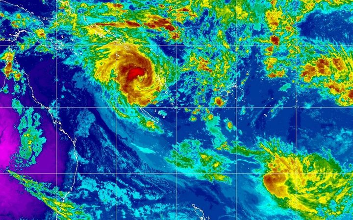 Image of tropical cyclone Oma
