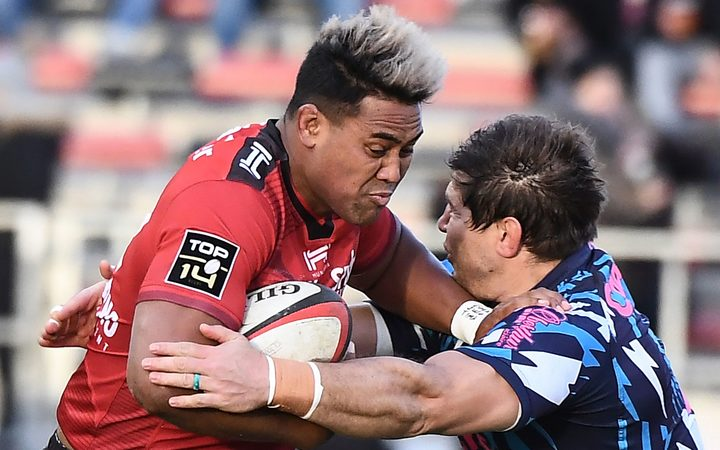 Julian Savea playing for Toulon. 18.2.19