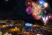 Fireworks are always a welcome sight on the opening night of the Queenstown Winter Festival.
