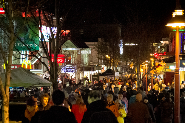These days over 45,000 people now pack Queenstown streets to enjoy some Winter Festival fun.