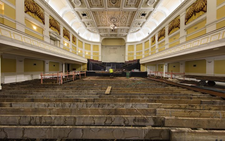 Wellington Town Hall strengthening project
