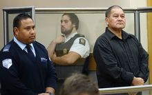 Taite Kupa, right, was sentenced for abusing six children in his care.