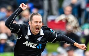 Leg spinner Todd Astle has edged out Ajaz Patel from the Black Caps test side.