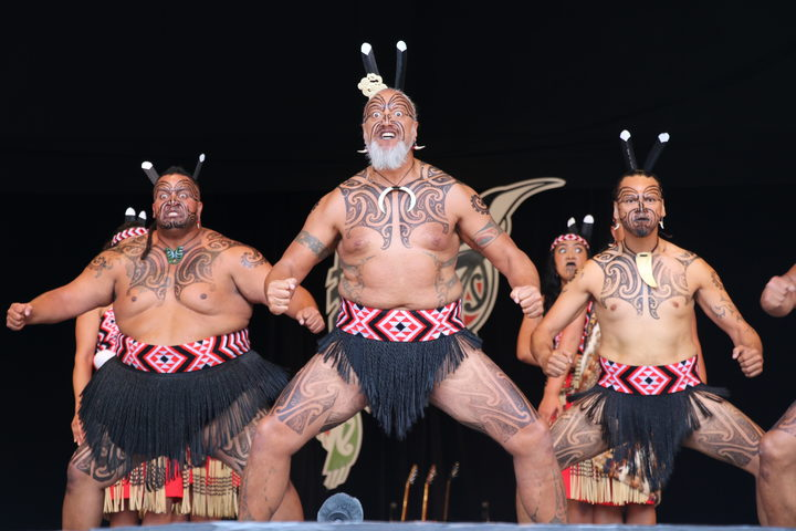 Tomika Whiu has performed with Te Waka Huia for 25 years.