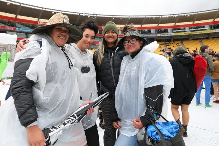 Fans have been braving the wet weather at Te Matatini at the stadium in Wellington today as the kapa haka competition closes in on the finals.