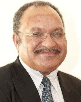 Peter O'Neill, the Prime Minister of Papua New Guinea