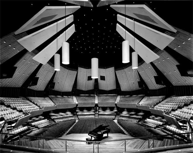 Main auditorium of the Christchurch Town Hall (Warren and Mahoney) 1972