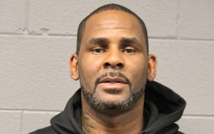 In this photo taken and released by the Chicago Police Dept., Friday, Feb. 22, 2019, R&B singer R. Kelly is photographed during booking at a police station in Chicago, Il. R. Kelly.