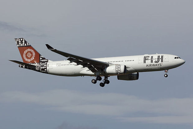 A Fiji Airways plane