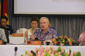The European Union's Commissioner for International Cooperation and Development, Neven Mimica