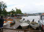 The waterfront and wharves at Gizo, Solomon Islands