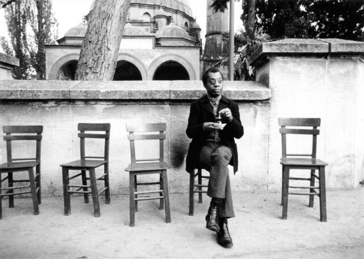 James Baldwin in Raoul Peck's documentary about him, I Am Not Your Negro.