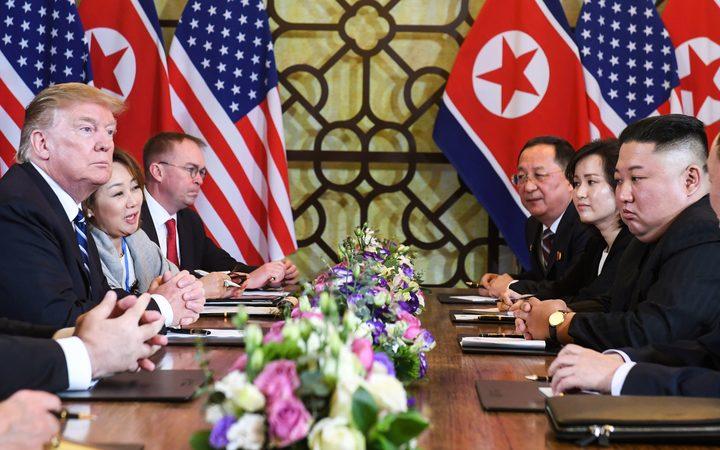 Trump walks away from deal with Kim over N.Korean sanction demands