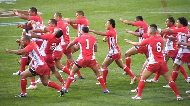 The Tongan Rugby League team