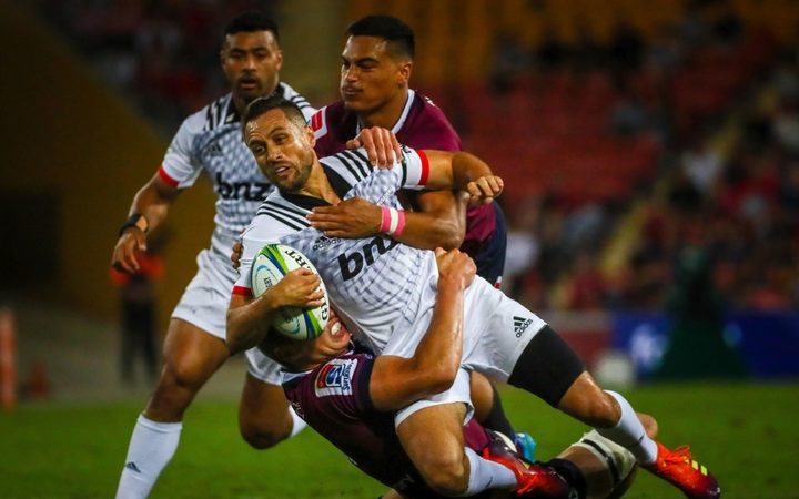 Crusaders stretch winning streak to 18 after beating Reds 12-22