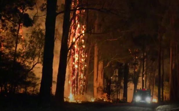 Five properties destroyed in Australian bushfires