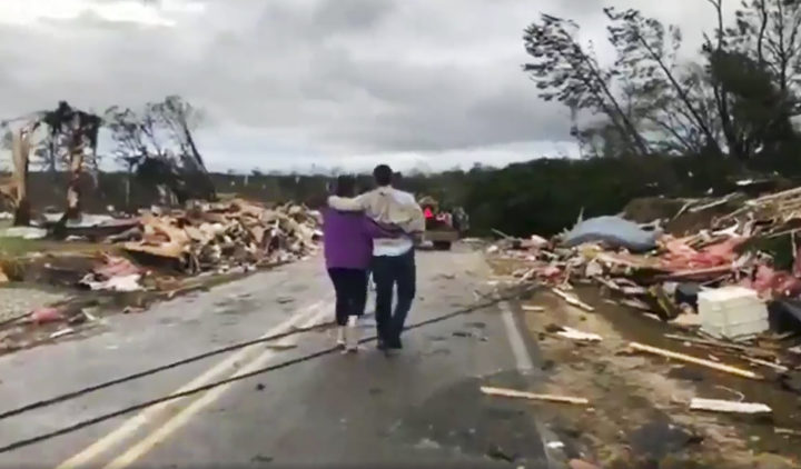 Photos of the Deep South's Deadly Tornado Outbreak
