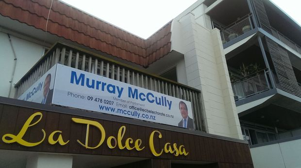 Colin Craig wants to come a close second in Murray McCully's electorate.