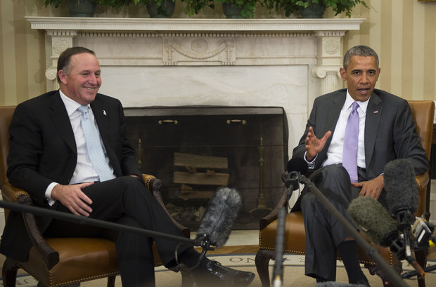 John Key said he hoped President Obama would visit New Zealand later this year.