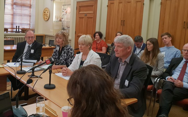 Members of Waikato and Bay of Plenty DHBs address the health select committee today.
