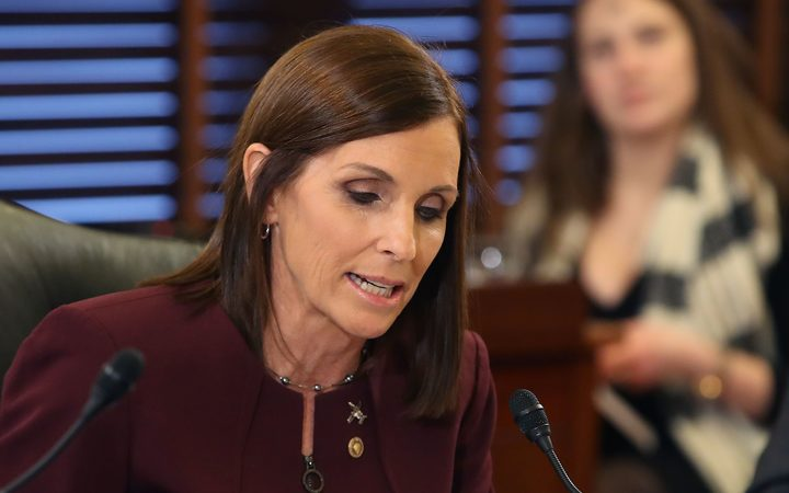 SecAf: 'I Have A Greater Respect' for Sen. Martha McSally After Disclosure