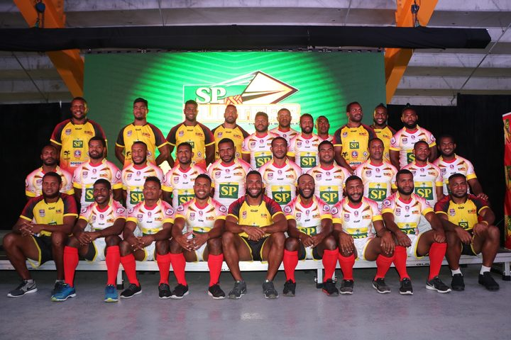 The 2019 PNG Hunters squad.