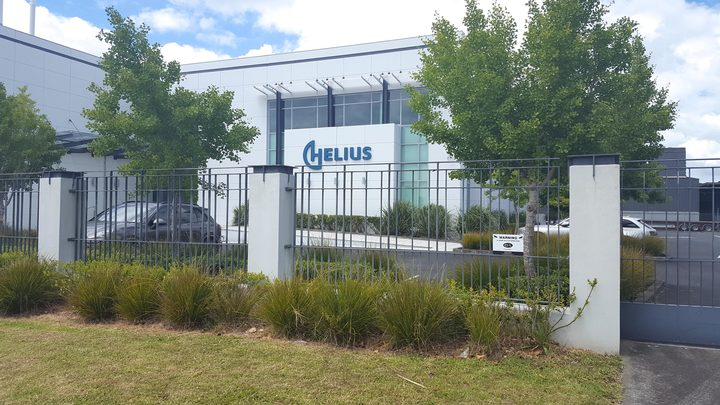 The Helius Cannabis factory in Auckland