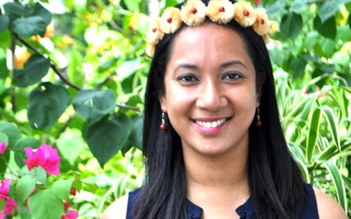Yolanda Joab Mori, youth leader from the Federated States of Micronesia