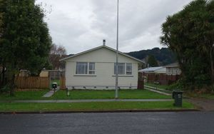 The property where Mark Smillie was tasered in Cutler Crescent, Whakatane.