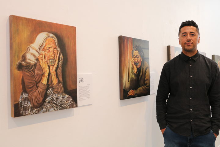 Jermaine Reihana is co-curator of Te Kuia Moko exhibition Depot Artspace, Auckland.
