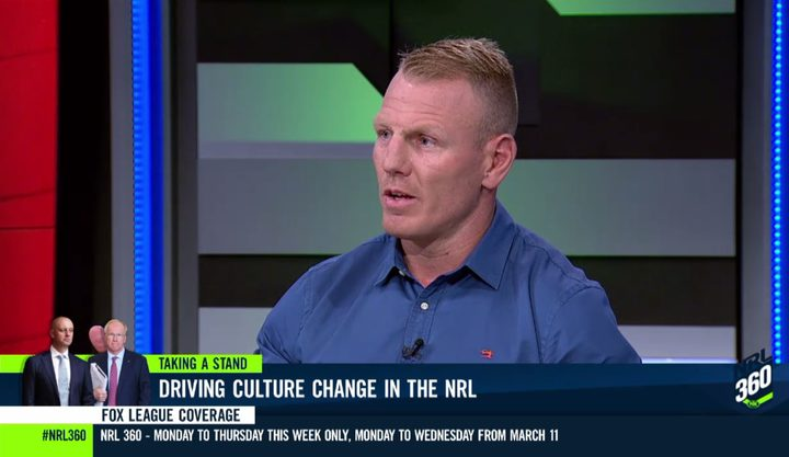 Former NRL player Luke Lewis tackles the footy pundits on player conduct.